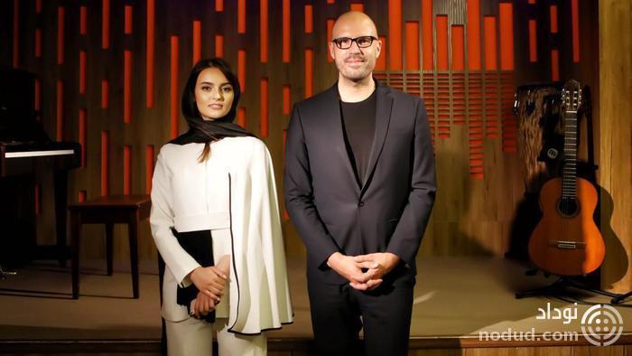 حضور خانم بازیگر ایرانی در کنار گروه موسیقی آلمانی+عکس
