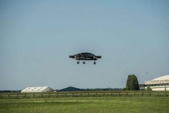 نخستین تاکسی هوایی انگلیس پرواز کرد+عکس