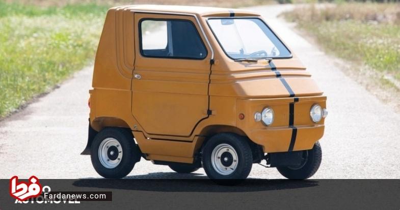 خودرو برقی ایتالیایی در ۴۴ سال قبل +عکس