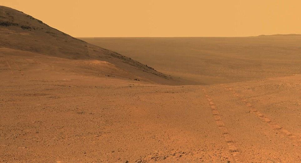 چه برسر مریخ نورد «کنجکاوی» پس از توفان عظیم آمد+ تصاویر