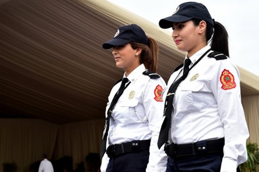 سربازی دخترها در مراکش+عکس