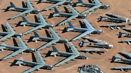 بزرگترین گورستان هواپیماهای نظامی جهان+عکس