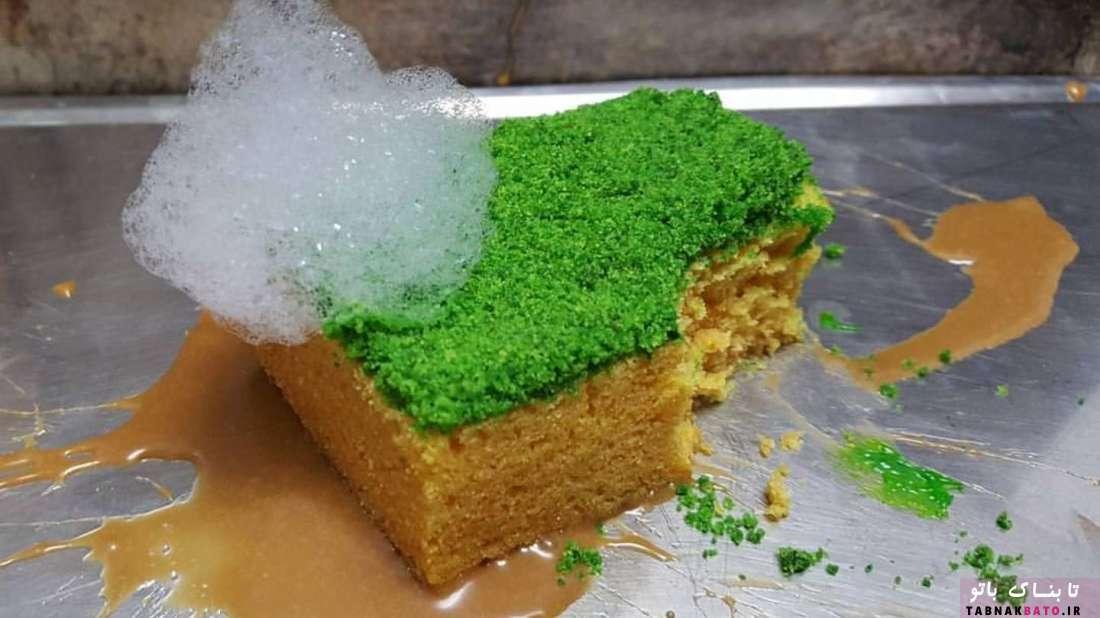 یک سر آشپز حرفهای و کیکهای عجیب و غریب قابل خوردن