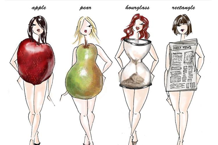 چگونه لباس ها را بر اساس تیپ بدنی انتخاب کنیم؟+عکس
