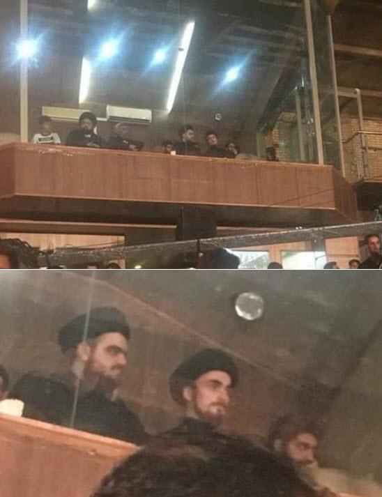 تصویری از فرزند سیدحسن خمینی در هیئت که حاشیهساز شد