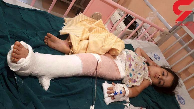 سقوط کودک از طبقه سوم در قائمشهر +عکس