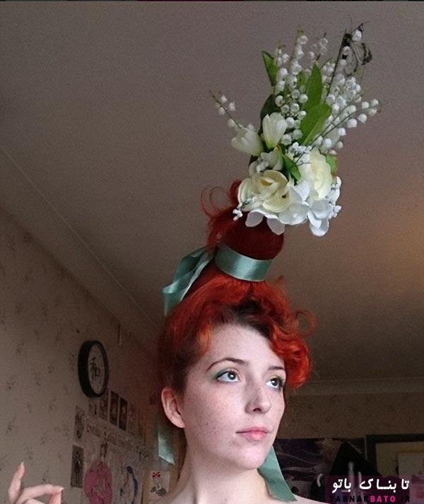 یک گلدان روی سر، مدل موی جدید و پر طرفدار