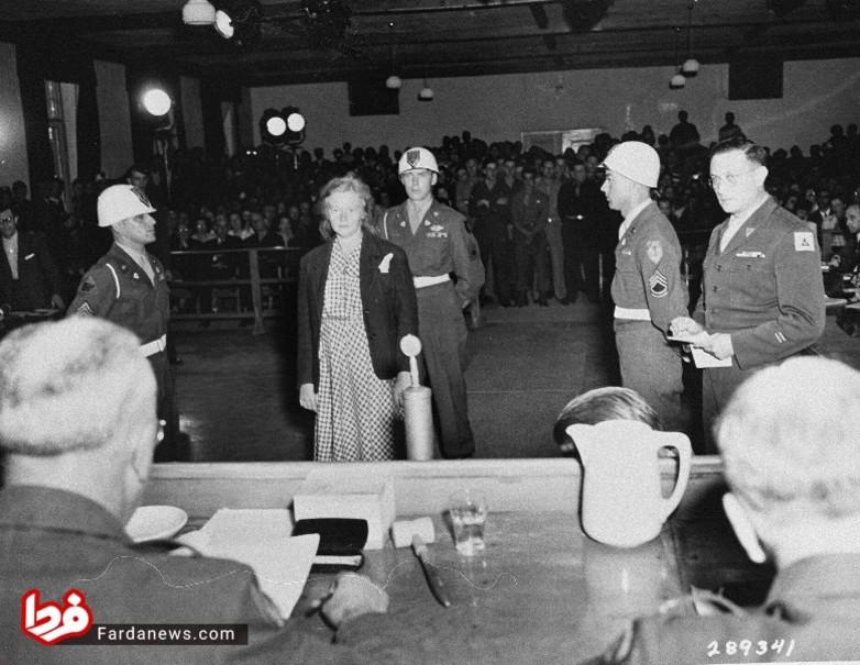 زن افسر نازی که زندانیان را آزار جنسی میداد +عکس