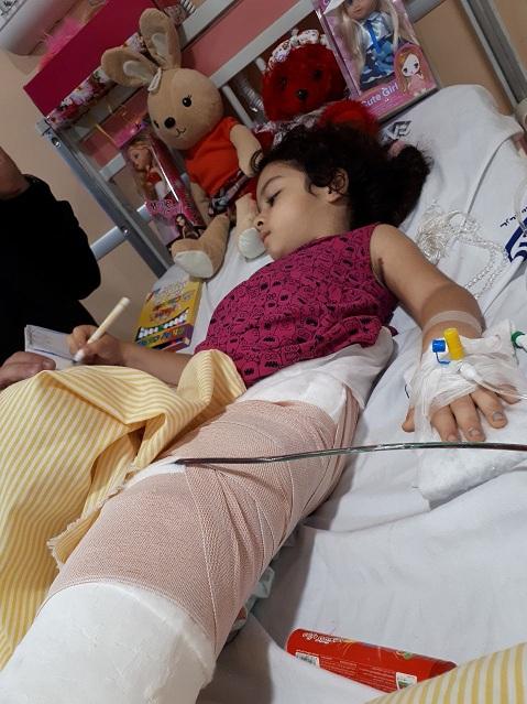 ماجرای نجات ریحانه ۵ ساله بعد از سقوط از طبقه سوم +عکس