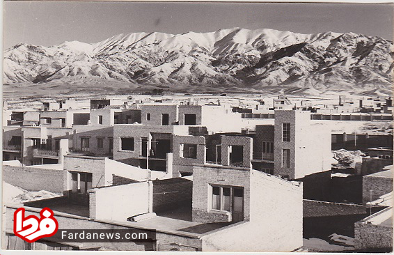 نمایی از ساختمان ها در تهران دوره پهلوی