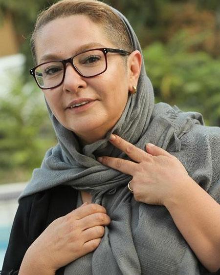 فحاشی به بازیگر زن به خاطر مدل موی جدیدش+عکس
