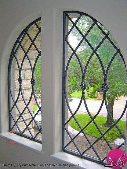 مدل های زیبا و متنوع حفاظ جلو پنجره