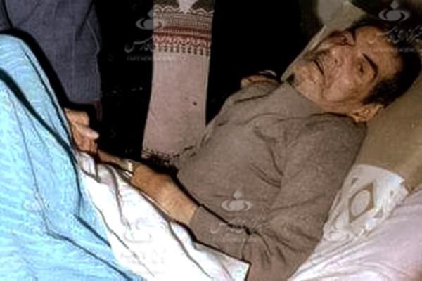 تصویر کمتر دیدهشده از استاد شهریار در بیمارستان