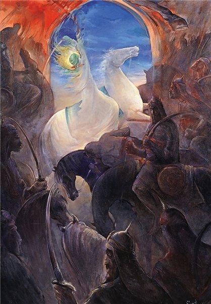 نذر یک هنرمند نقاش برای شام غریبان امام حسین (ع) +عکس