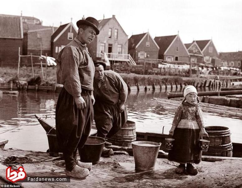 شلوار خمرهای مردان هلندی +عکس