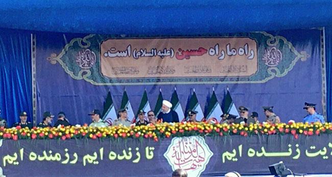 لحظه مطلع کردن روحانی از حمله تروریستی اهواز +عکس