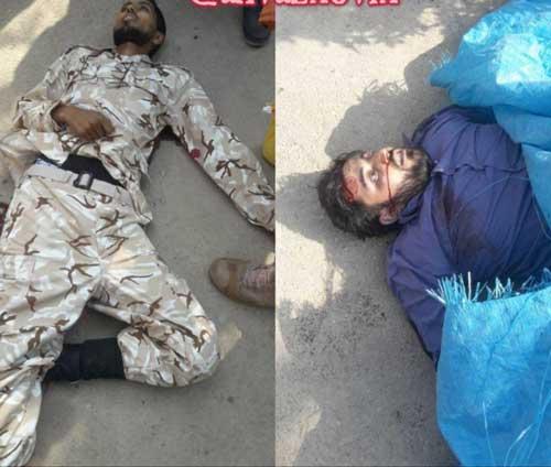 تصویر منتشر شده از تروریستهای حادثه امروز