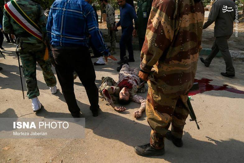 عکس از حمله تروریستی امروز اهواز