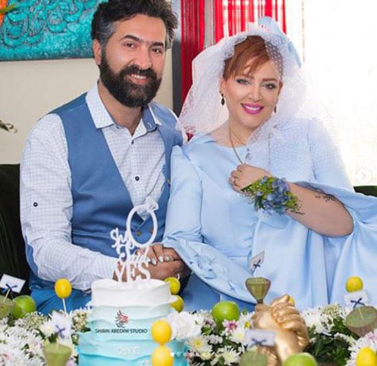 بهاره رهنما و همسرش در سالگرد ازدواجشان +عکس
