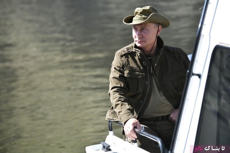 تعطیلات تابستانی پوتین در سیبری