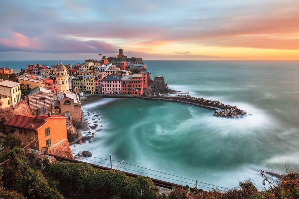 عکس روز نشنال جئوگرافیک؛ غروب آفتاب ایتالیایی