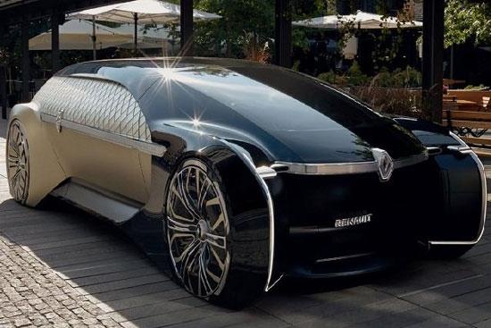 لوکسترین خودروی خودران برقی رنو تولید شد +عکس
