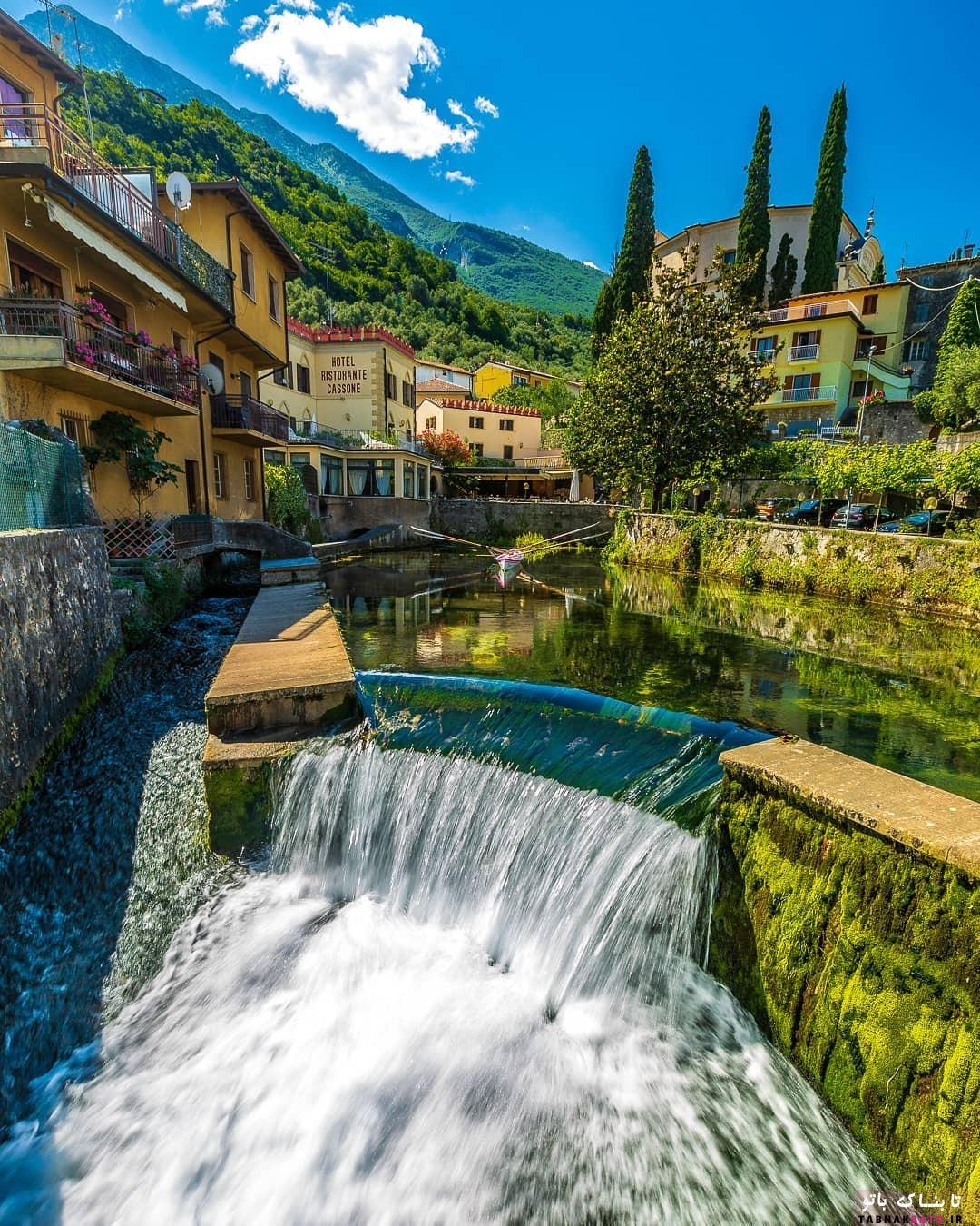 طبیعت زیبای دریاچه «مولوِنو» در شمال ایتالیا