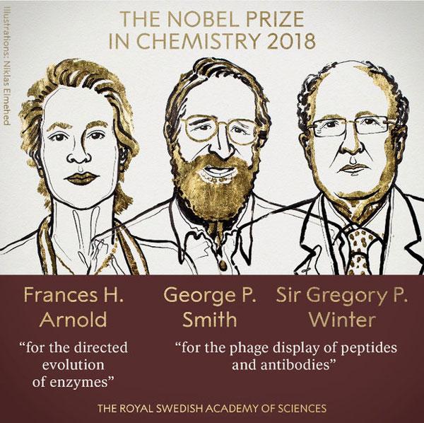 برندگان نوبل شیمی معرفی شدند+عکس