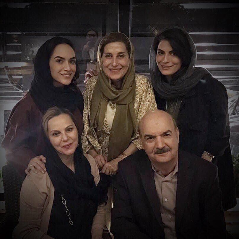 ایرج طهماسب و خانواده اش +عکس