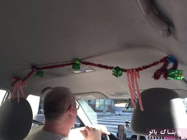 اقدام جالب یک راننده تاکسی برای رضایت مسافرانش