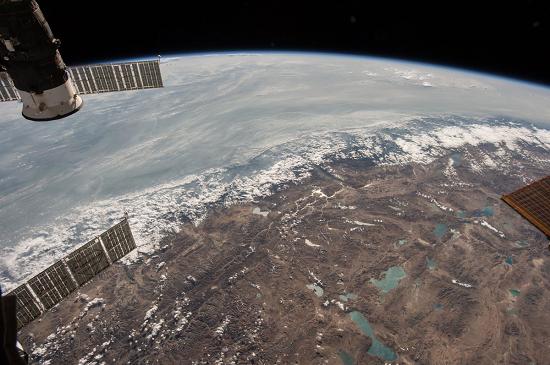 تماشای منطقه هیمالیا از ایستگاه فضایی +عکس