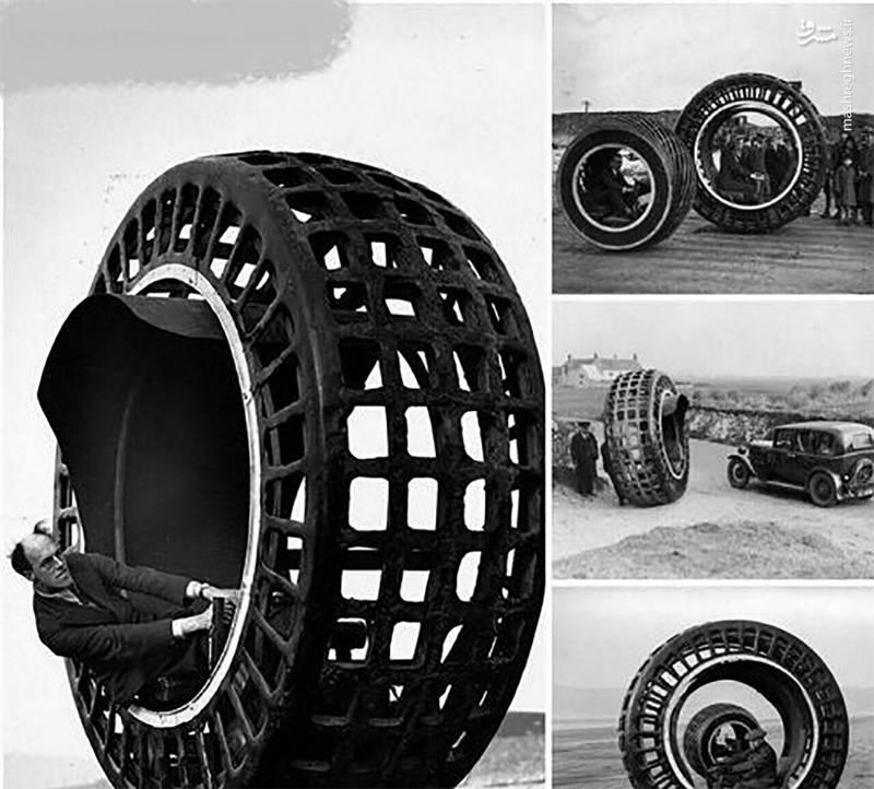 ماشینی عجیب متعلق به سال ۱۹۳۰+عکس