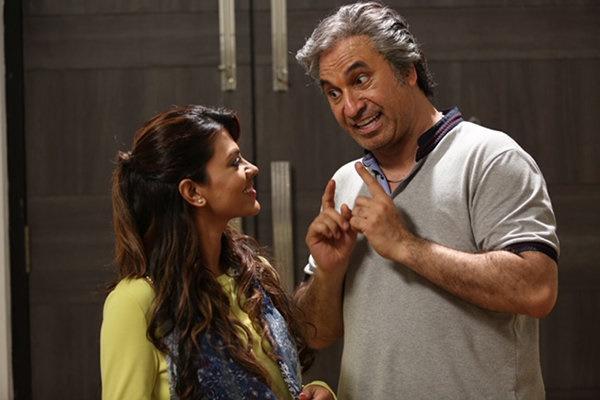 حمید فرخنژاد در کنار بازیگر زن هندی +عکس