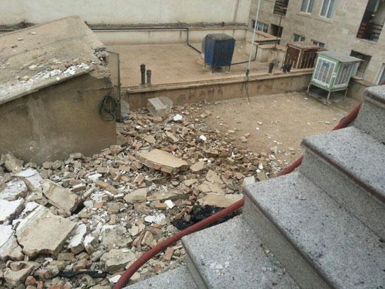 انفجار ساختمان مسکونی در خیابان جیحون +عکس