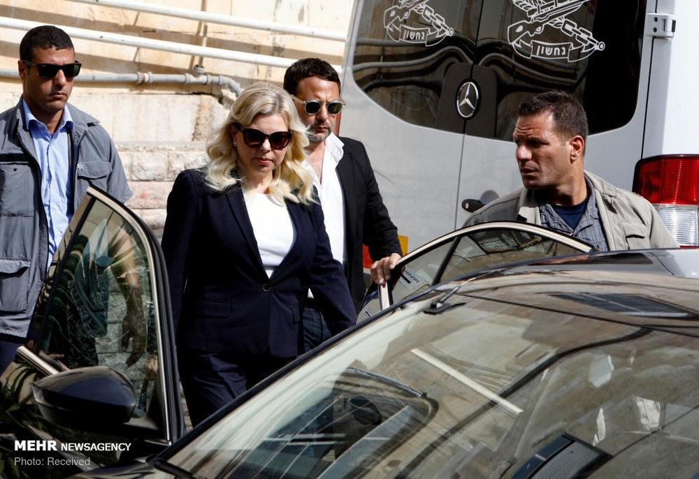 همسر سیاستمدار معروف در دادگاه+عکس