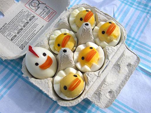 12 ایده فوق العاده برای تزیین تخم مرغ پخته