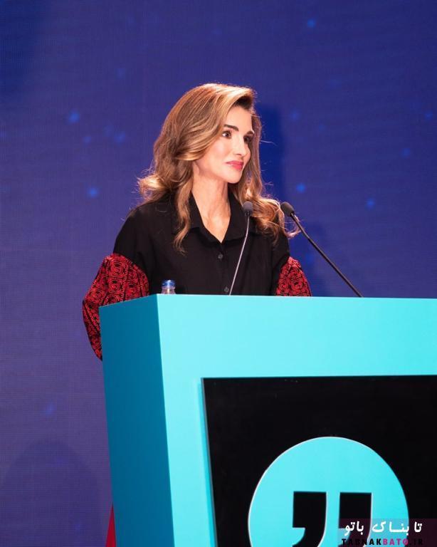 حضور ملکه اردن در نشست ترکیه