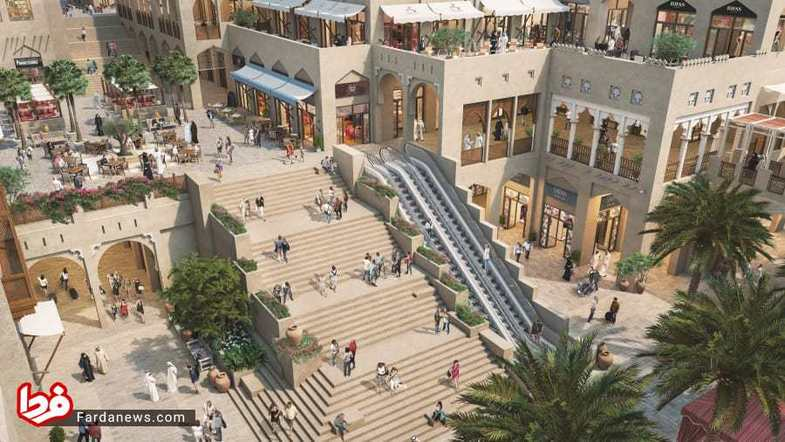 پروژه بزرگترین مرکز خرید در دبی + عکس