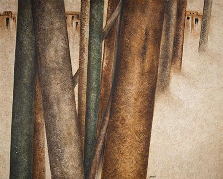 نقاشیهای سهراب سپهری در موزههای جهان