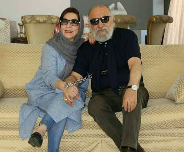 داریوش ارجمند و همسرش +عکس