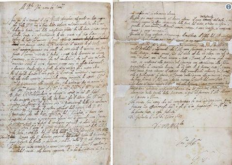 نامه ۴۰۰ ساله گالیله پیدا شد +عکس