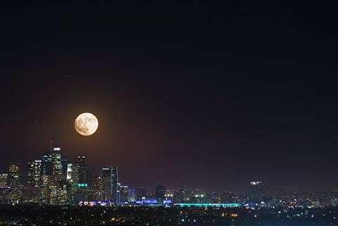 اتفاقی ترسناک در آسمان لس آنجلس