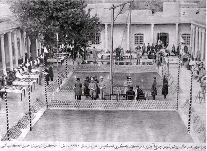 کنسولگری انگلیس در شیراز + عکس