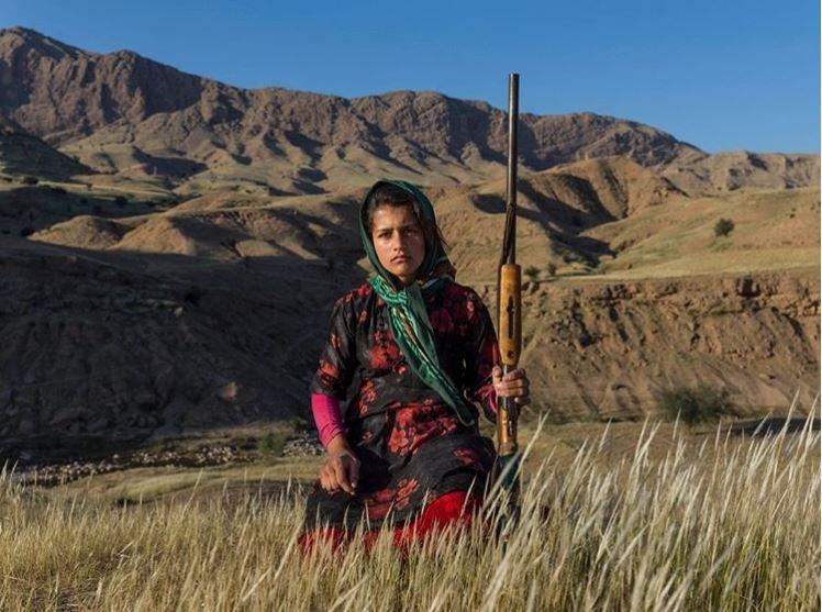 دختر عشایر ایرانی در صفحه نشنال جئوگرافیک +عکس