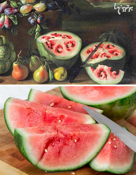 میوهها و سبزیجات در گذشته چه شکلی بودند؟
