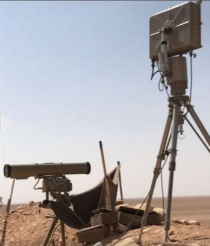 رادار زمینی GSR-۱۱۰ ساخت ابران +عکس
