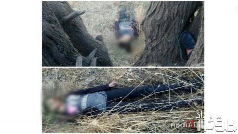جسد دختر 15 ساله ای که با روسری حلق آویز شده بود+عکس