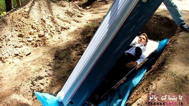 «تابوت درمانی» جنجال یک روانپزشک در اوکراین