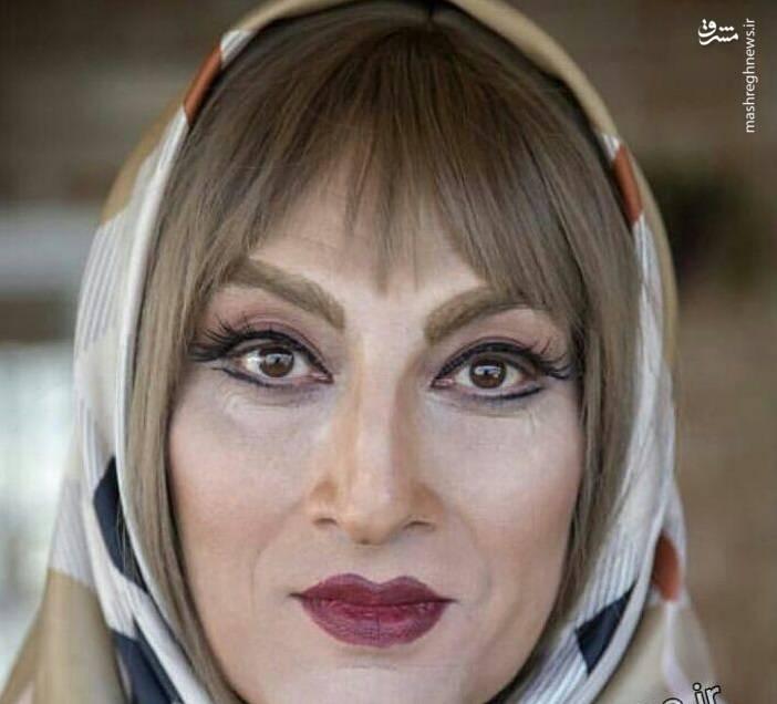 «ارژنگ امیرفضلی» زن شد+عکس