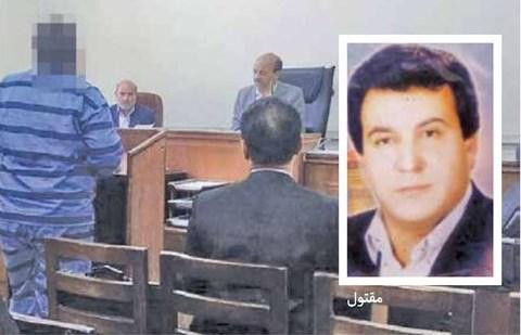 ۱۲ سال بلاتکلیفی قاتل در زندان +عکس
